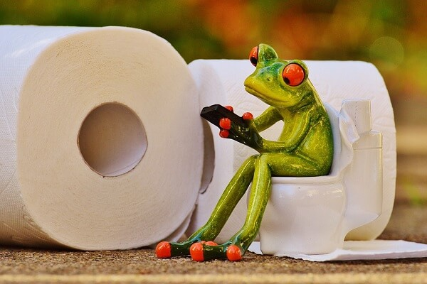 pooping-modern toilet-bathroom posture-squatting position