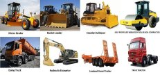 Contruction equipment-Forklift-crane-Trucks