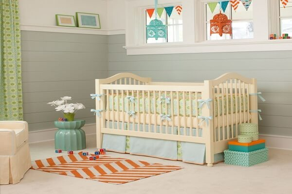 baby nursery-calm & peaceful nursery
