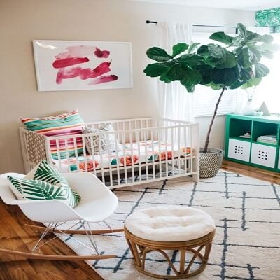 baby nursery-calm & peaceful nursery 1