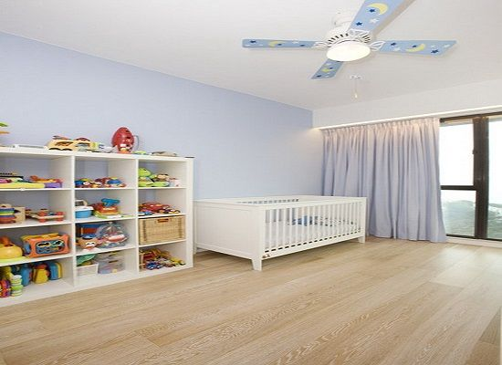 Storage-stylish nursery