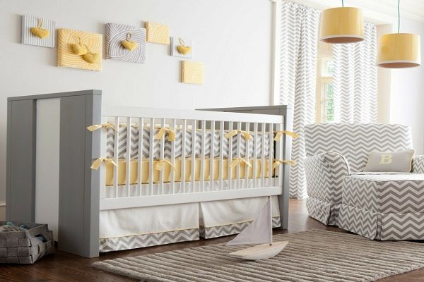 The Bedding-stylish nursery