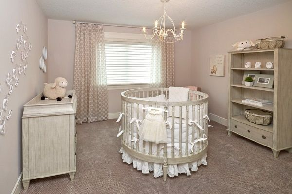 the crib-stylish nursery
