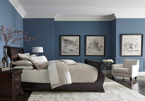 wall color-decor ideas-bedroom decor