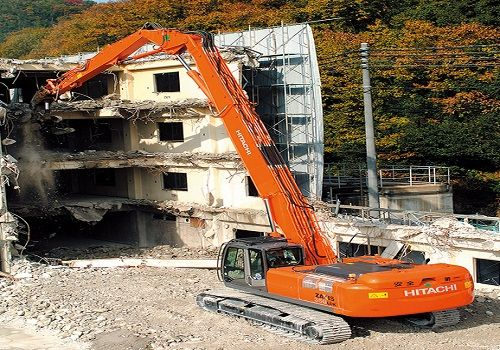 demolition-excavator machines