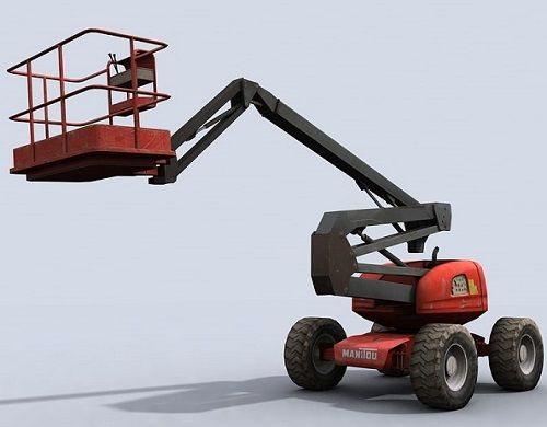 cherry picker-forklift truks