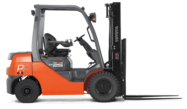 counterbalance forklift trucks