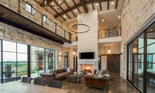 Stunning-Farmhouse-Interior Design