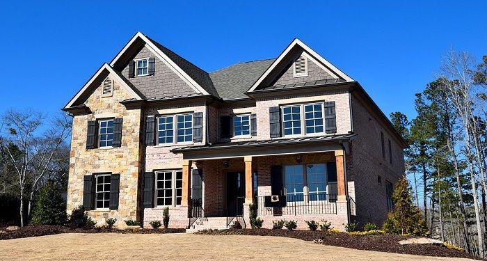custom-built home
