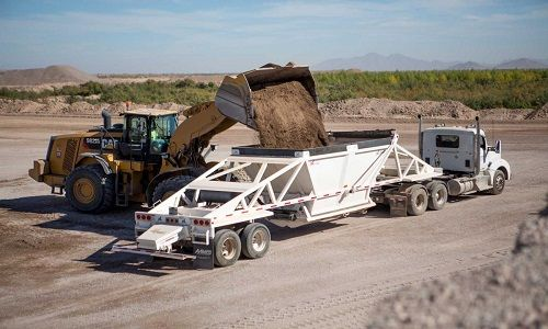 tipper truck types-types of dump trucks-belly dump truck