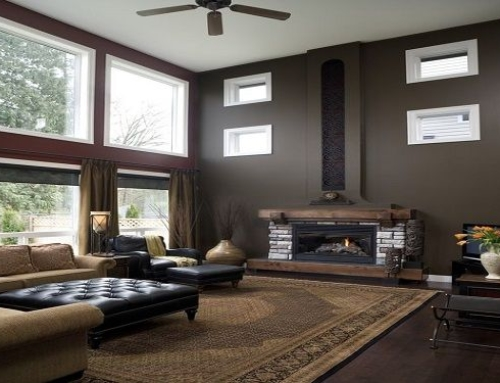 How to Use Dark Colors at Home