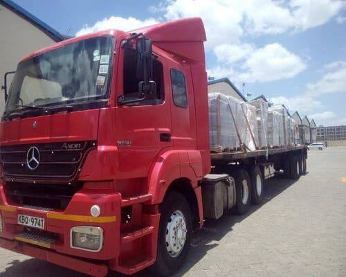 Famio Services Trailer Truck 1