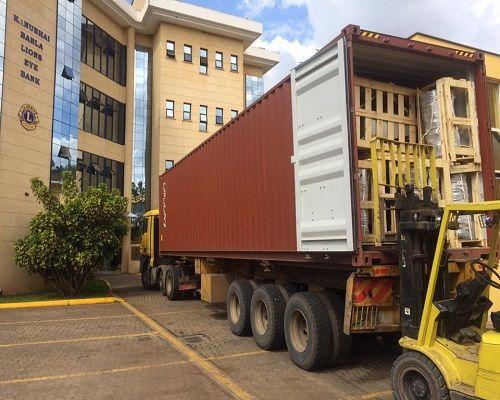 Famio forklift hire nairobi-loresho hospital