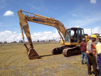 excavating project kenya-hire excavators