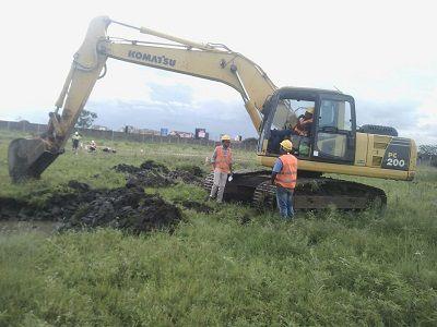 Famio excavating project Nairobi kenya