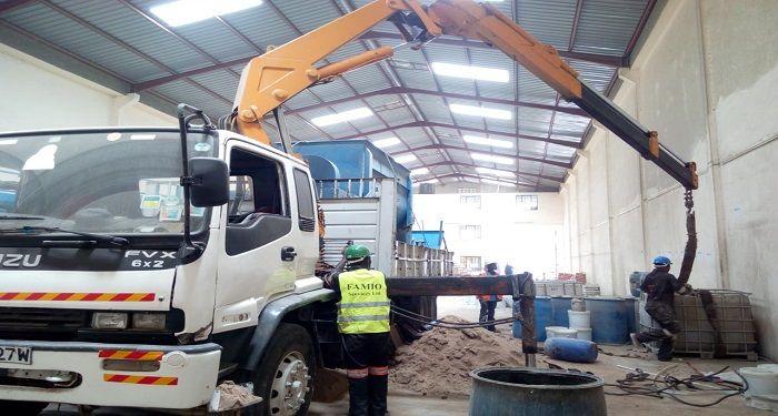 Hi Up Truck The Smart Crane For Materials Handling