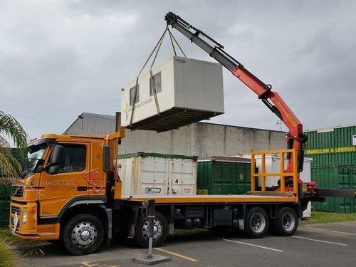 Materials Handling-truck mounted crane